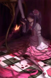 Rating: Safe Score: 31 Tags: dress frederica_bernkastel furudo_erika lolita_fashion silverwing umineko_no_naku_koro_ni User: 洛井夏石