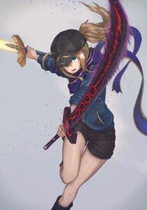Rating: Safe Score: 32 Tags: fate/grand_order heroine_x sword yasu_(segawahiroyasu) User: Nepcoheart