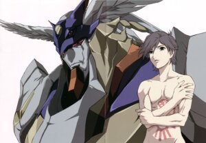Rating: Questionable Score: 2 Tags: kamina_ayato male mecha rahxephon User: Umbigo