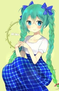 Rating: Safe Score: 34 Tags: dress hatsune_miku kakizato_shinano vocaloid User: charunetra