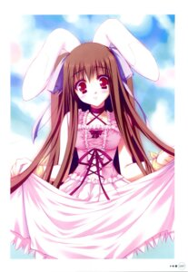 Rating: Safe Score: 13 Tags: animal_ears bunny_ears dress moekibara_fumitake piz purism_egoist User: androgyne