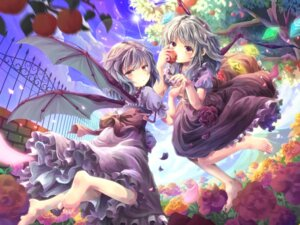 Rating: Safe Score: 38 Tags: flandre_scarlet mikkii remilia_scarlet touhou wings User: 椎名深夏