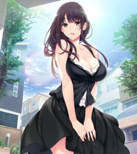 Rating: Safe Score: 133 Tags: cleavage dress hibiki_works iizuki_tasuku kisaragi_maaya onee-chan_no_yuuwaku User: RyuZU
