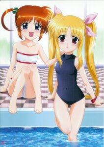 Rating: Safe Score: 13 Tags: bikini fate_testarossa mahou_shoujo_lyrical_nanoha mahou_shoujo_lyrical_nanoha_a's okuda_yasuhiro screening swimsuits takamachi_nanoha User: noirblack