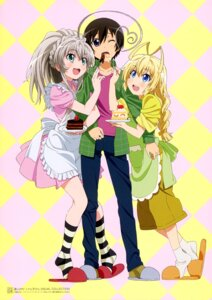 Rating: Safe Score: 34 Tags: haiyore!_nyaruko-san hasuta nyaruko trap waitress yasaka_mahiro User: Anonymous