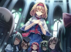 Rating: Safe Score: 24 Tags: alice_margatroid blood touhou xiaoyin_li User: Randeel