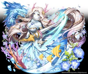 Rating: Safe Score: 12 Tags: apple-caramel cleavage dress horns weapon wings User: BattlequeenYume