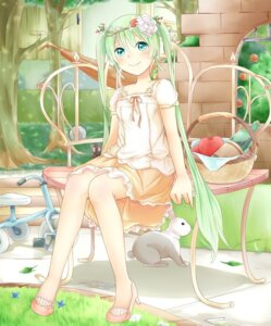 Rating: Safe Score: 32 Tags: dress hatsune_miku sakakidani vocaloid User: nophone