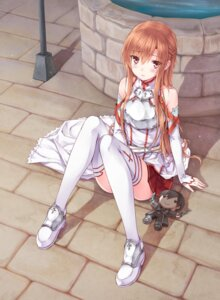 Rating: Safe Score: 110 Tags: armor asuna_(sword_art_online) hiten jpeg_artifacts sword_art_online thighhighs User: 椎名深夏