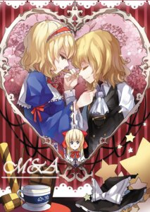 Rating: Safe Score: 7 Tags: alice_margatroid kirisame_marisa sindre touhou yuri User: Radioactive