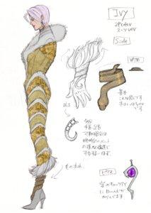 Rating: Questionable Score: 4 Tags: bodysuit character_design heels ivy_valentine sketch soul_calibur soul_calibur_v User: Yokaiou