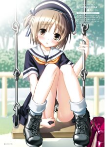 Rating: Questionable Score: 33 Tags: haikuo-soft nekomiya_nono pantsu seifuku tagme yotsunoha User: kiyoe