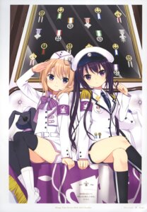Rating: Safe Score: 56 Tags: gochuumon_wa_usagi_desu_ka? hoto_cocoa koi tedeza_rize thighhighs uniform User: fireattack