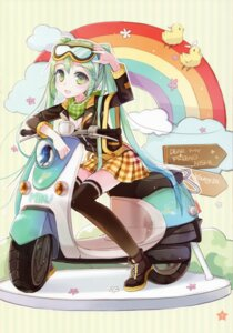 Rating: Safe Score: 38 Tags: hatsune_miku thighhighs vocaloid young-in User: yong