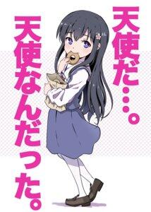 Rating: Safe Score: 11 Tags: heels seifuku shirosaki_hana tagme watashi_ni_tenshi_ga_maiorita! User: saemonnokami