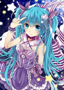 Rating: Safe Score: 37 Tags: dress hatsune_miku lolita_fashion tons vocaloid User: mahoru