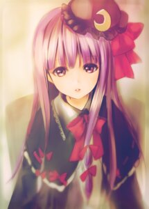 Rating: Safe Score: 85 Tags: catbell patchouli_knowledge touhou User: Mr_GT