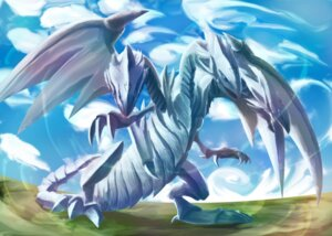 Rating: Safe Score: 12 Tags: blue_eyes_ultimate_dragon hitsuji11go monster yugioh User: vistaspl