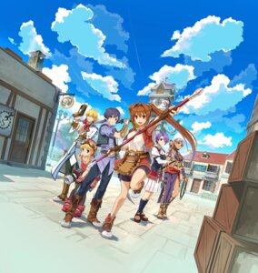 Rating: Safe Score: 32 Tags: armor bike_shorts bikini_top cleavage eiyuu_densetsu eiyuu_densetsu:_sora_no_kiseki estelle_bright falcom gun joshua_bright klose_rinz olivier_lenheim scherazard_harvey sword tagme tita_russell weapon User: Radioactive