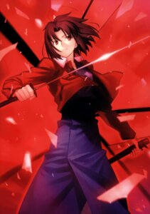 Rating: Safe Score: 37 Tags: kara_no_kyoukai ryougi_shiki sword takeuchi_takashi type-moon User: fireattack