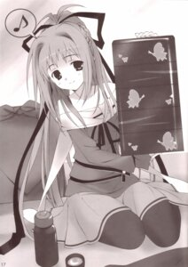 Rating: Safe Score: 9 Tags: asuku_san itsuka_todoku_anosorani monochrome pantyhose sakana User: admin2