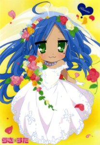 Rating: Safe Score: 17 Tags: dress izumi_konata lucky_star wedding_dress User: Radioactive
