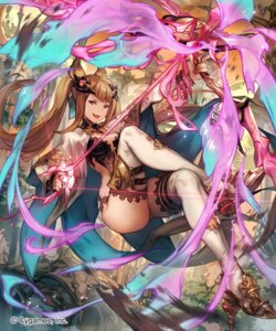 Rating: Safe Score: 51 Tags: animal_ears cleavage granblue_fantasy heels lee_hyeseung leotard metera_(granblue_fantasy) no_bra thighhighs weapon User: Mr_GT