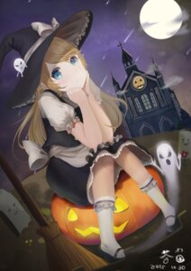 Rating: Safe Score: 18 Tags: cha_jun halloween kirisame_marisa touhou witch User: Mr_GT