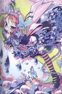 Rating: Safe Score: 14 Tags: amimi dress lolita_fashion megane thighhighs User: cheese