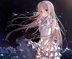 Rating: Safe Score: 56 Tags: ano_hi_mita_hana_no_namae_wo_bokutachi_wa_mada_shiranai dress honma_meiko skirt_lift summer_dress xue_lu User: BattlequeenYume