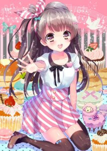 Rating: Safe Score: 44 Tags: love_live! lyric minami_kotori thighhighs User: 椎名深夏