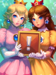 Rating: Safe Score: 15 Tags: bellhenge dress mario_bros. princess_daisy princess_peach_toadstool watermark User: mattiasc02