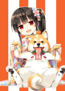 Rating: Safe Score: 45 Tags: cura digital_version hachiroku kimono lose maitetsu User: Twinsenzw