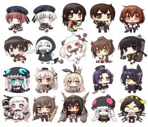 Rating: Safe Score: 51 Tags: airfield_hime akagi_(kancolle) amatsukaze_(kancolle) chibi eyepatch gun heels horns ikazuchi_(kancolle) kaga_(kancolle) kantai_collection kirishima_(kancolle) kitakami_(kancolle) megane nagato_(kancolle) naturalton northern_ocean_hime re-class_battleship sendai_(kancolle) shimakaze_(kancolle) stockings taihou_(kancolle) tatsuta_(kancolle) tenryuu_(kancolle) thighhighs weapon wo-class_aircraft_carrier yukikaze_(kancolle) z1_leberecht_maass_(kancolle) z3_max_schultz_(kancolle) User: fairyren