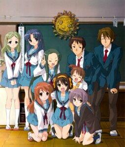 Rating: Safe Score: 32 Tags: asahina_mikuru asakura_ryouko kimidori_emiri koizumi_itsuki kyon kyon's_sister nagato_yuki seifuku suzumiya_haruhi suzumiya_haruhi_no_yuuutsu tsuruya User: Driger