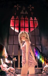Rating: Questionable Score: 46 Tags: flandre_scarlet touhou yoi_yuki User: oppai