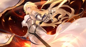 Rating: Safe Score: 48 Tags: armor cangkong fate/grand_order jeanne_d'arc jeanne_d'arc_(fate) sword User: mash