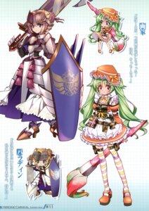 Rating: Safe Score: 16 Tags: armor chibi gaka_(heroine_carnival) heroine_carnival lolita_fashion maetaku mikan_douwa paladin_(heroine_carnival) sword thighhighs User: fireattack