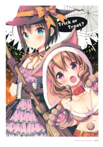 Rating: Safe Score: 20 Tags: animal_ears cleavage dress halloween mitsuki_(mangaka) watashi_no_tomodachi_ga_sekaiichi_kawaii witch User: fireattack