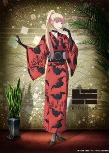 Rating: Safe Score: 20 Tags: fujito_chiyuki heels kimono runway_de_waratte tagme User: blooregardo