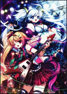 Rating: Safe Score: 3 Tags: capura.l cleavage guitar thighhighs User: yong