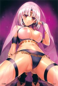 Rating: Questionable Score: 151 Tags: breasts cameltoe garter lingerie misaki_kurehito nipples see_through User: Twinsenzw