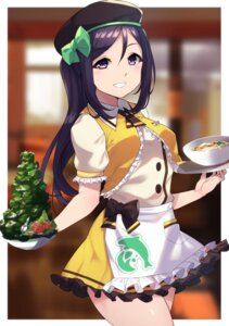 Rating: Safe Score: 11 Tags: love_live!_sunshine!! matsuura_kanan uniform waitress yamaorimon User: Spidey