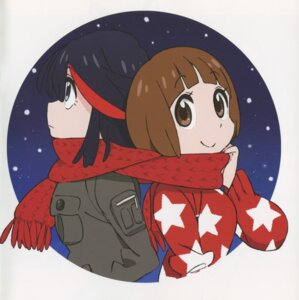Rating: Safe Score: 7 Tags: kill_la_kill mankanshoku_mako matoi_ryuuko yamada_mako User: Radioactive