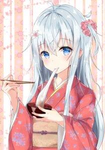 Rating: Safe Score: 57 Tags: hibiki_(kancolle) kantai_collection kimono yuzuzukushi User: Mr_GT