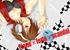 Rating: Safe Score: 5 Tags: bra cleavage headphones meiko vocaloid yuuyapon User: Radioactive