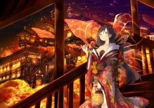 Rating: Safe Score: 23 Tags: cleavage kimono no_bra shiabisu User: BattlequeenYume