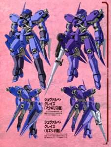 Rating: Safe Score: 6 Tags: gundam gundam_iron-blooded_orphans mecha profile_page schwalbe_graze weapon User: drop
