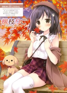 Rating: Questionable Score: 23 Tags: korie_riko possible_duplicate thighhighs User: drop