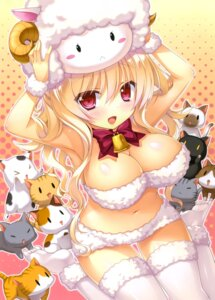 Rating: Safe Score: 85 Tags: alicetia_wallenberg_kezouji cleavage marmalade primal_x_hearts_2 sasorigatame thighhighs User: RKO